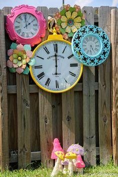 Alice in Wonderland clocks