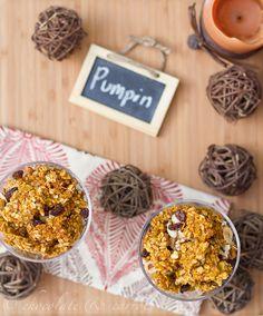 Pumpkin granola! PUMPKIN!PUMPKIN!