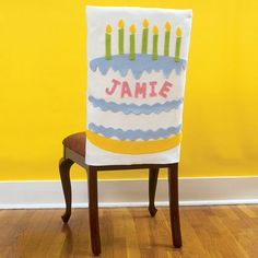 Crafts: Birthday Throne Chair Covers  | Spoonful