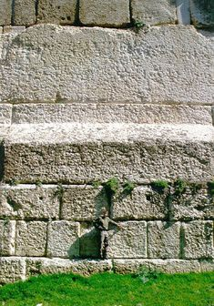 The platform of the Baalbek temple (Beirut) was made before romans and greeks and it was made with stones that weight thousands of tons (2500 tons each) that were moved there, elevated from the ground and moved one over the other to realize the platform itself. We don't know how. Nothing in the world even TODAY could move these stones.
