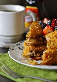 Nutella Crunch French Toast