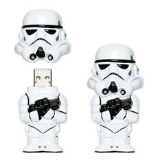Star Wars Stormtrooper USB Drive - Take My Paycheck | The coolest gadgets, electronics, geeky stuff, and more! Shut up and take my money!