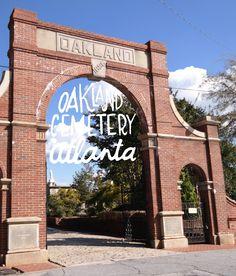 Oakland Cemetery in Atlanta, GA