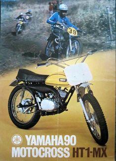 1972 - Yamaha HT1-MX 90cc Brochure