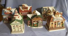 new obsession: Christmas Villages
