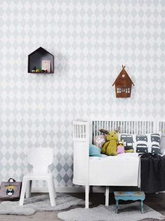 Wallpaper for Kids Rooms by Ferm Living