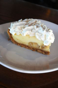 ... photography by dana waldon # banana # pie cream pies banana board