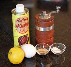 Macadamia Nut Mayonnaise - Primal Palate