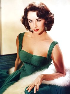 Medium length hair styles shouldn't be boring. Medium length hair styles like Elizabeth's  . . . classic!  Come see how to get the look. Elizabeth Taylor