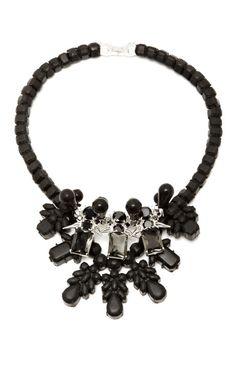 Ek Thongprasert black  silver Dagger Necklace -- I love ALL things Ek Thongprasert it seems!