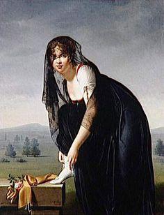Villers изобразительное искусство, da lua, classic paint, women portrait, feitiço da