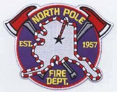 North Pole Alaska Fire Department patch