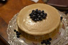 Vegan Vanilla Cake  http://www.food.com/recipe/vegan-golden-vanilla-cupcakes-302367