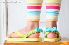 Interchangeable Flip-Flop Back Straps | Make It and Love It
