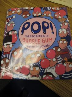 Kids love to chew, smack and pop gum so why not read about it? This nonfiction book appeals to a K-3 audience with the fascinating history of bubble gum. nonfiction books, bubble gum, kid