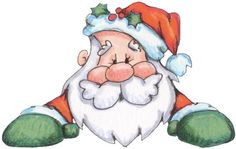 claus art, picasa, craft, printabl christma, christma santa, clip art, santa claus, navidad, clipart natalizi