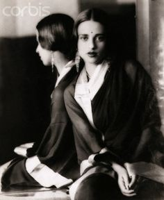 double portrait of a painter - Amrita Sher-Gil
