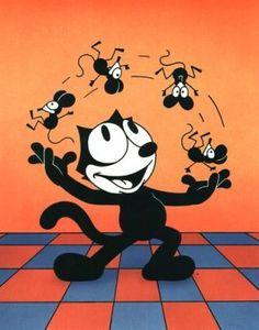 I loved Felix the Cat!!