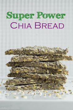 Super Power Chia Bread (gluten free)