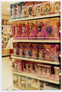 80's toy store display