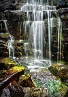Bond Falls, Upper Peninsula, Michigan; photo by Matt Anderson