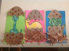 Dinosaur Craft - kids, preschool, kindergarten Dinosaur Theme