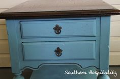 Painted Table Annie Sloan Provence