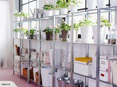 IKEA - HYLLIS Shelving unit, galvanised | Trade Me $14.99