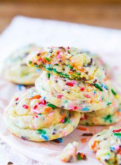 sugar cooki, sprinkle shower, sprinkle cookies, baby sprinkle
