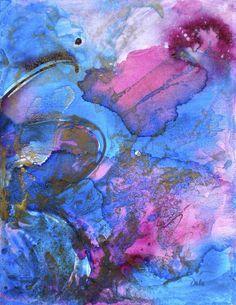 Flutter By 2 Painting  - Flutter By 2 Fine Art Print