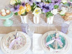 Recreate this vintage-inspired Mother's Day lunch with DIY tips  recipes from HGTV.com-- http://hg.tv/zz87