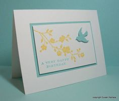 CAS113 Flying Birthday by LateBlossom - Cards and Paper Crafts at Splitcoaststampers