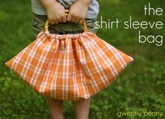The shirt-sleeve bag tutorial