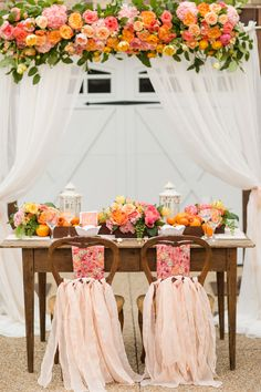 Blush and Citrus Summer Inspiration
