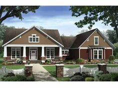 Someday build...Floor Plans AFLFPW09308 - 1 Story Country Home with 4 Bedrooms, 2 Bathrooms and 2,447 total Square Feet