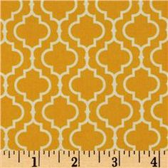"Metro Living Tile Marigold \\ $7 yard \\ 44"" Wide \\\ Quilting"