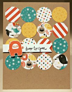 Klompen Stampers (Stampin' Up! Demonstrator Jackie Bolhuis): Freaky Friends: Day 2
