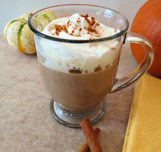 Pumpkin Spice Mocha Coffee - Pumpkin Spice brewed coffee topped with a milk blended, cinnamon and cocoa mixture.