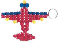pony bead airplane