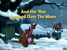 And the Roo Jumped Over the Moon...A Poem Is