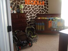 neat idea for nursery, could work for boys room too