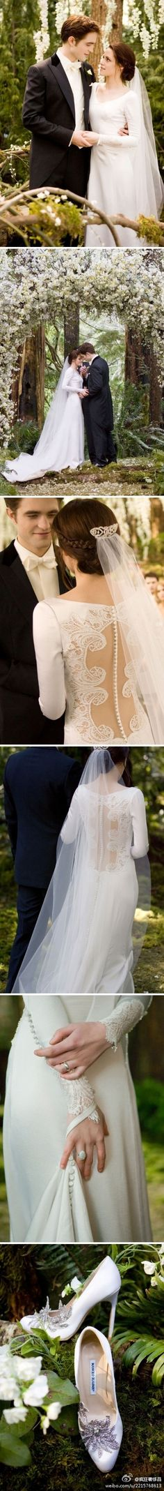 Bella and Edward's wedding