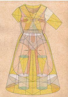 artistTRACCIAMENTI - dresses series