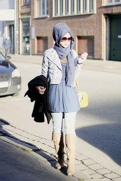 Street Hijab Inspiration