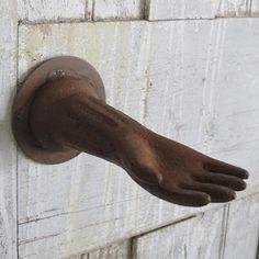 Rusty Iron Hand Hook