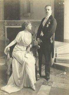 King Manuel II of Portugal and consort Augusta Viktoria (nee Pss of Hohenzollern-Sigmaringen)
