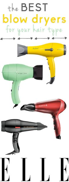 The 10 best blow dryers for your hair type.  #blowdryer