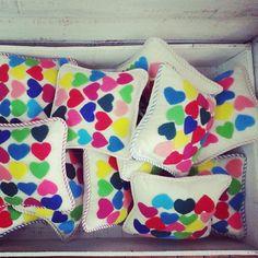 Mini almohadones!!!