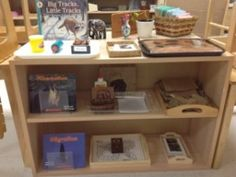 Animals in Winter- Montessori Shelf