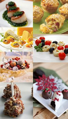 Great appetizers and desserts for New Years Eve! #newyearseve #appetizers #desserts #holidays